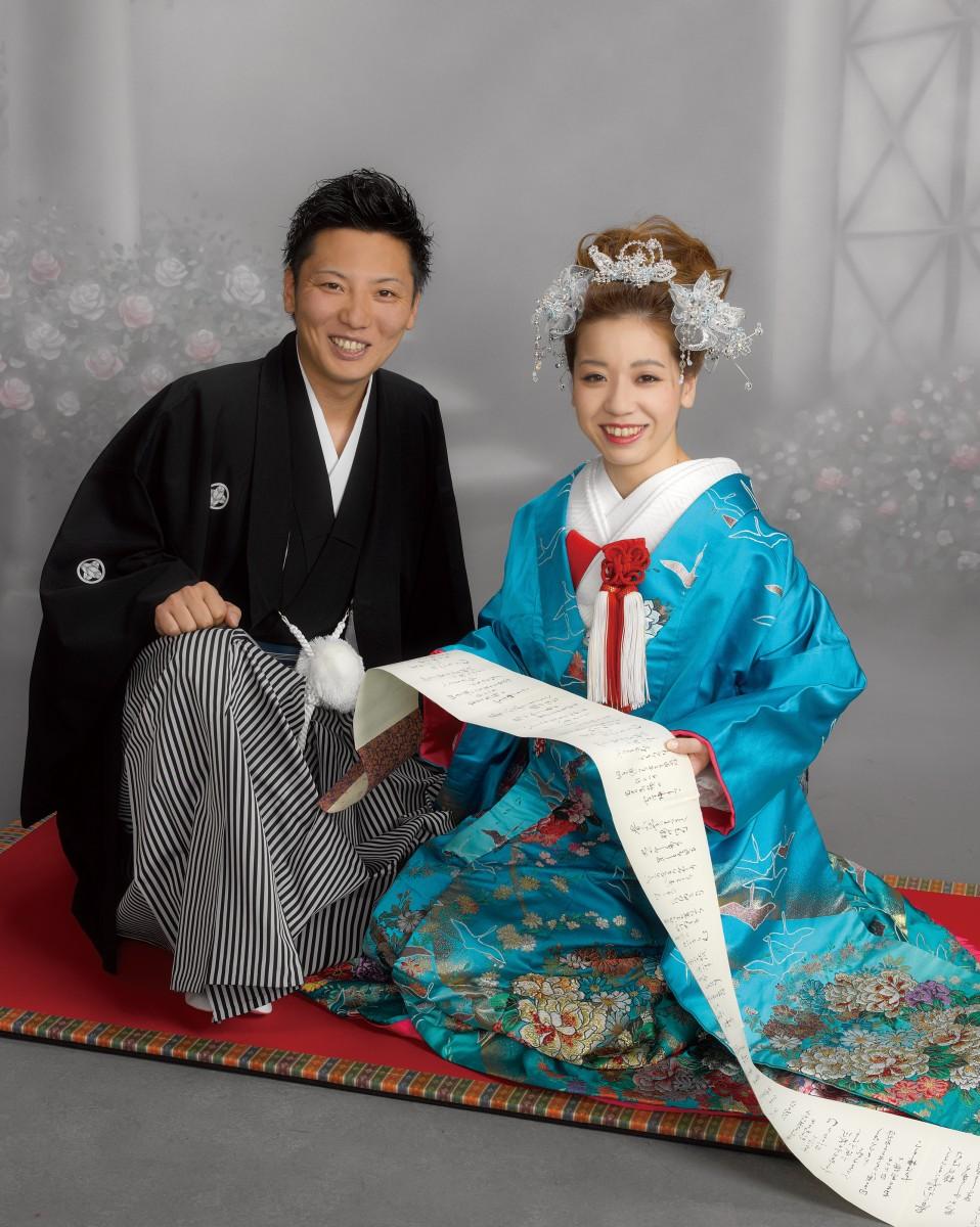結婚写真(和歌山県岩出市・スタジオフジヒラ)